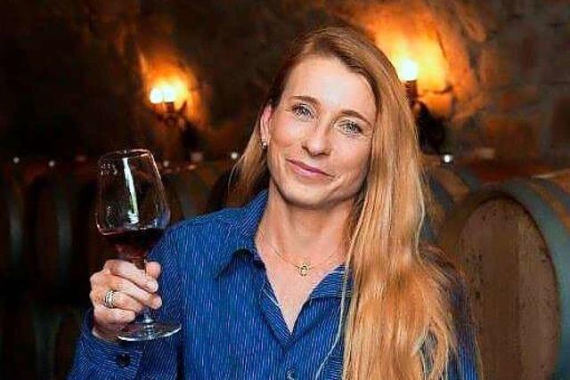 Sylvia Männle vom Weingut Heinrich Männle in Durbach