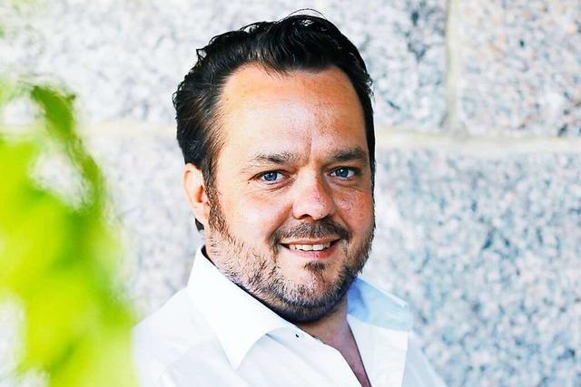 Stephan Danner ist geschäftsführender Vorstand der Durbacher Winzer