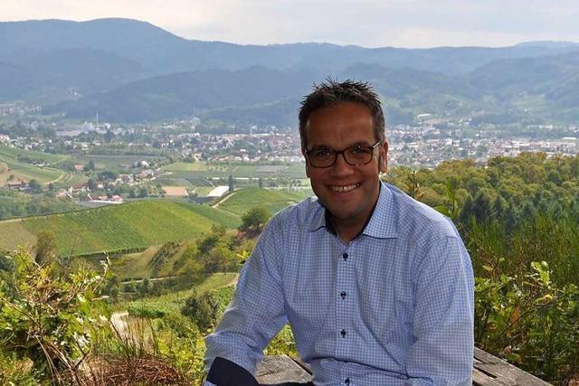 Markus Ell, geschäftsführender Vorstand der Oberkircher Winzer eG