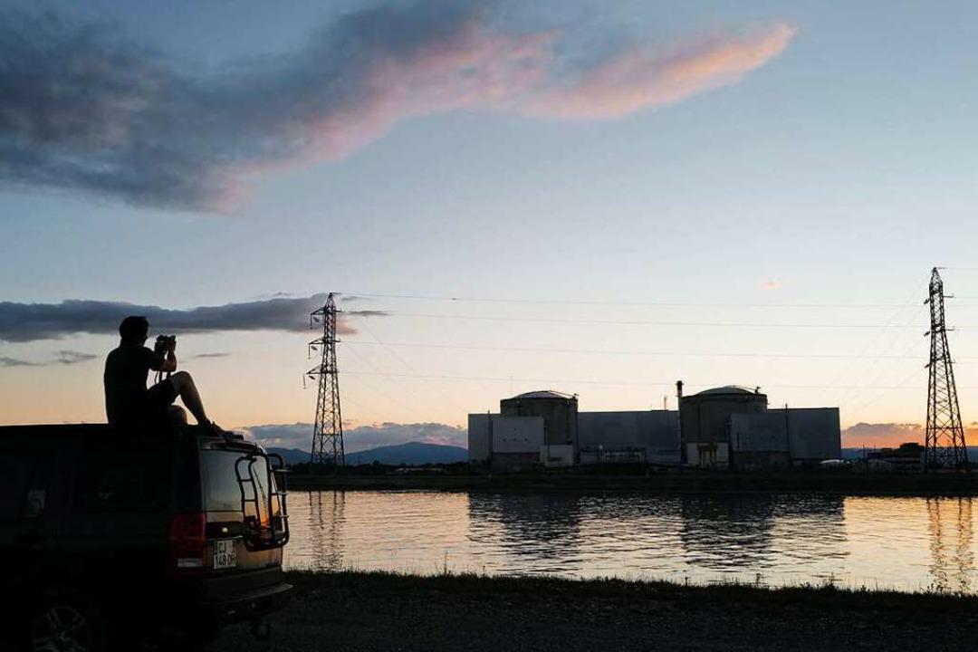 313 Brennelemente lagern noch im abges... 2023 sollen sie abtransportiert sein.  | Foto: SEBASTIEN BOZON