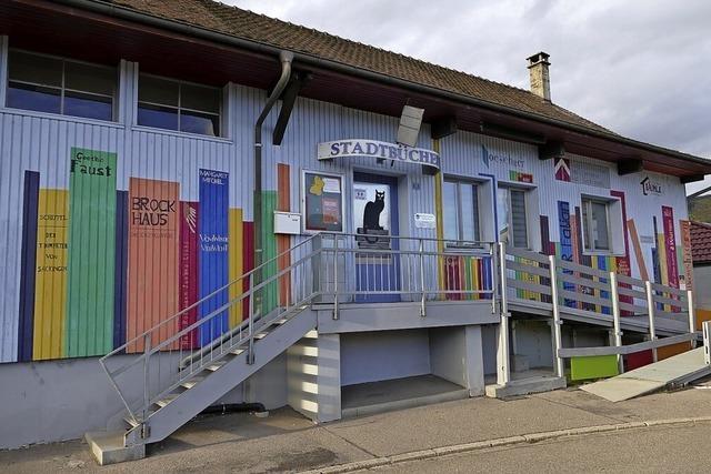 Corona drückt 2020 die Bilanz der Stadtbücherei