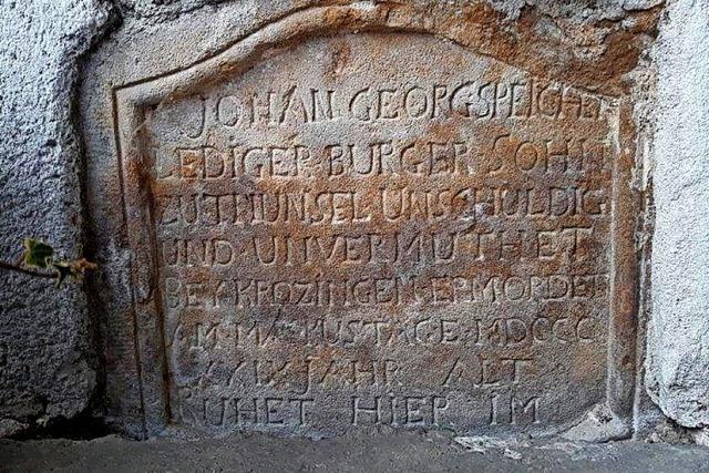 Gedenken an die Toten vom 25. April 1800