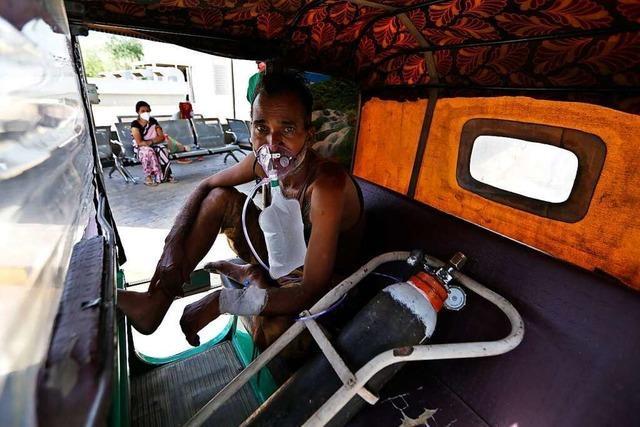 Corona grassiert in Indien - ein Land ringt um Luft