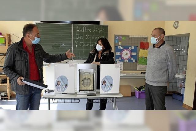 Schule installiert acht Luftreiniger gegen Coronaviren