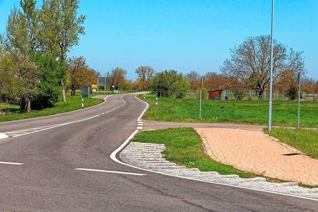 Radweg zwischen Wyhl und Weisweil an der L 104 rückt näher