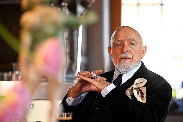 Der Künstler Markus Lüpertz feiert seinen 80. Geburtstag