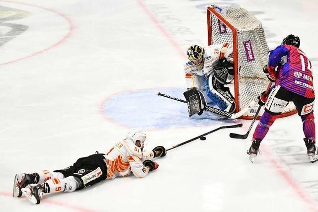 EHC Freiburg startet mit 6:4-Heimsieg ins Playoff-Viertelfinale gegen Kaufbeuren