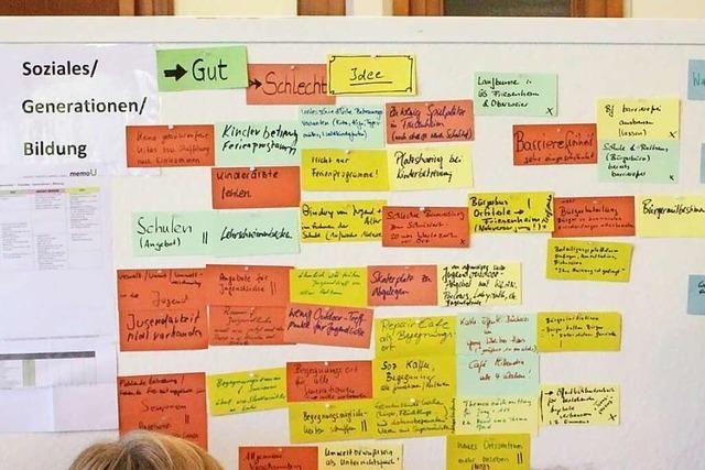 Seelbach startet die Bürgerbeteiligung am Gemeindeentwicklungskonzept