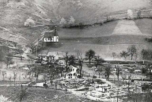 Vor 85 Jahren brannte das Schwarzwalddorf Tunau fast völlig nieder