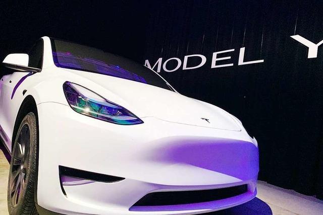 Tesla eröffnet Pop-up-Store in Gundelfingen