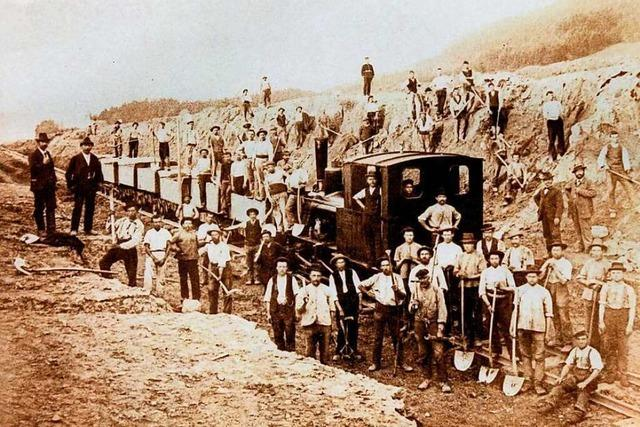 Eine Eisenbahn sollte einst auch durchs Simonswäldertal führen