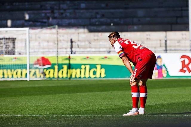 Gegen Hoffenheim verdienen sich die Freiburger einen Punkt, tun sich aber schwer