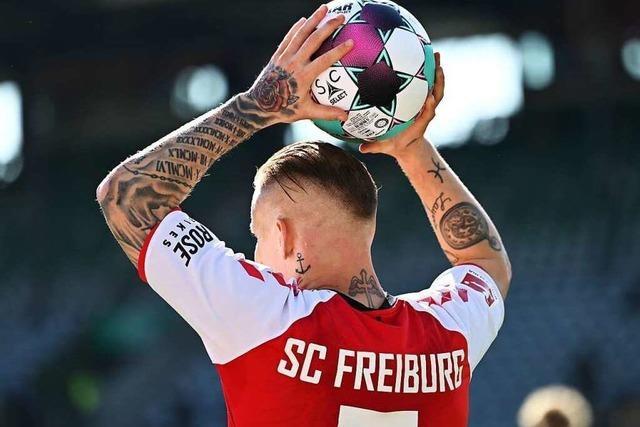 Fotos: Nervenstarker Grifo sichert Freiburg gegen Hoffenheim einen Punkt