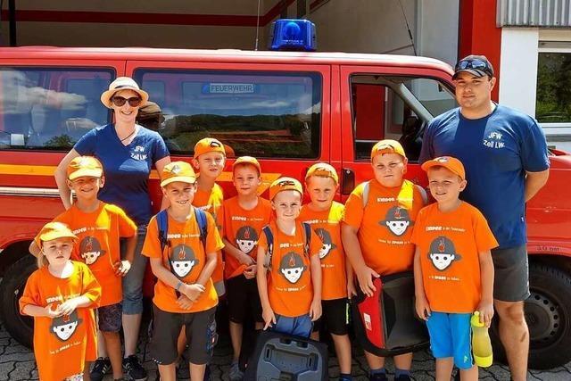 Auch die Zeller Feuerwehrkinder warten auf das Ende der Pandemie