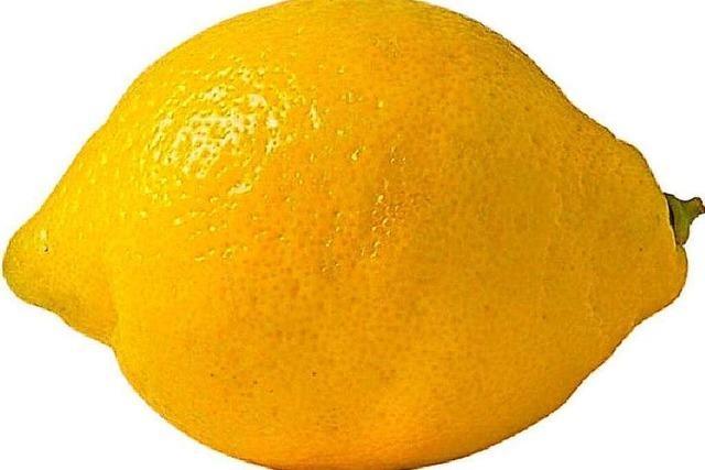 Wie man Bio-Zitronen vor dem Schimmeln bewahren kann