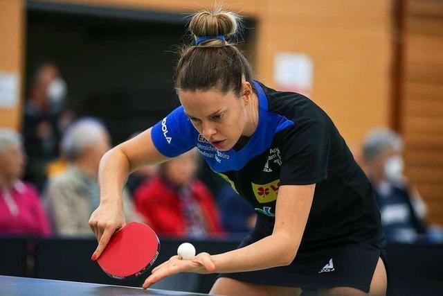 Für die Tischtennisfrauen des ESV Weil läuft es richtig gut