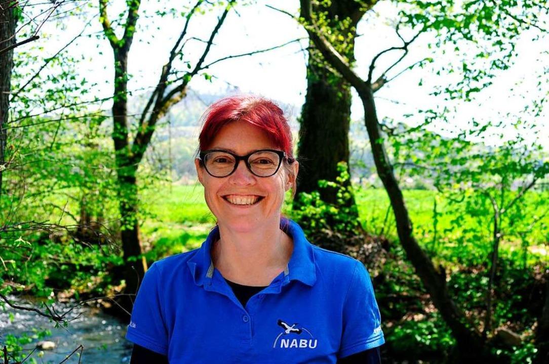 Sonja Lehmann ist die neue Vorsitzende der Nabu-Kreisgruppe Emmendingen.    Foto: Nabu