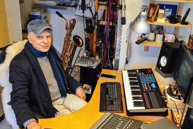 Wie ein Staufener Saxofonist gegen den Corona-Blues arbeitet