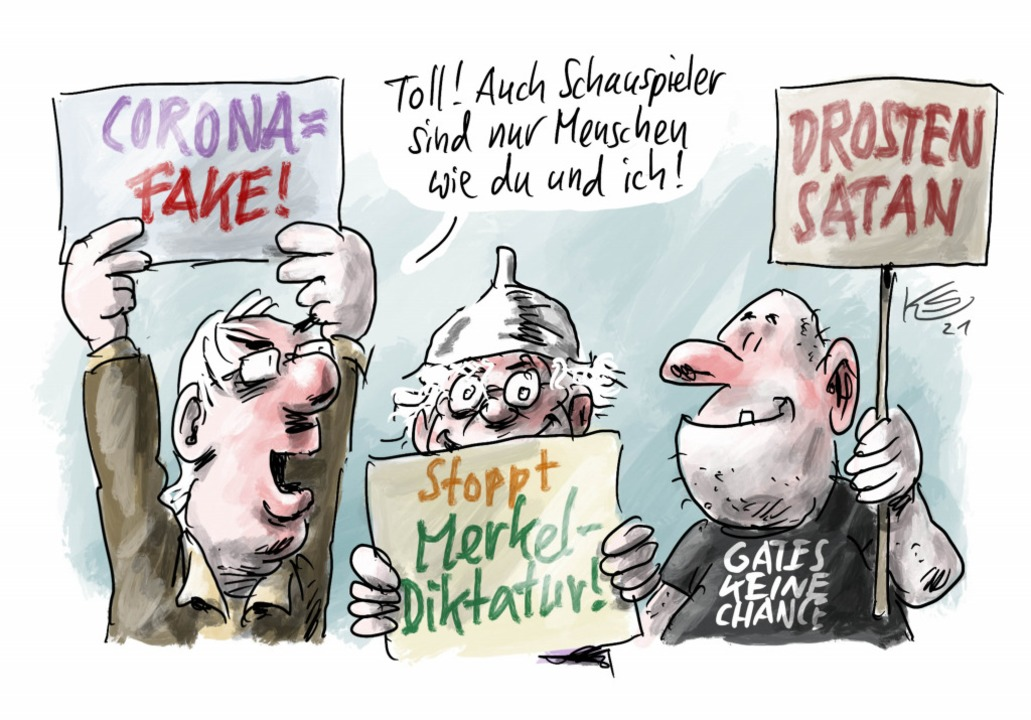 So sieht unser Karikaturist Klaus Stuttmann das Thema.  | Foto: Klaus Stuttmann