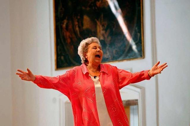 Die Sopranistin Christa Ludwig ist tot