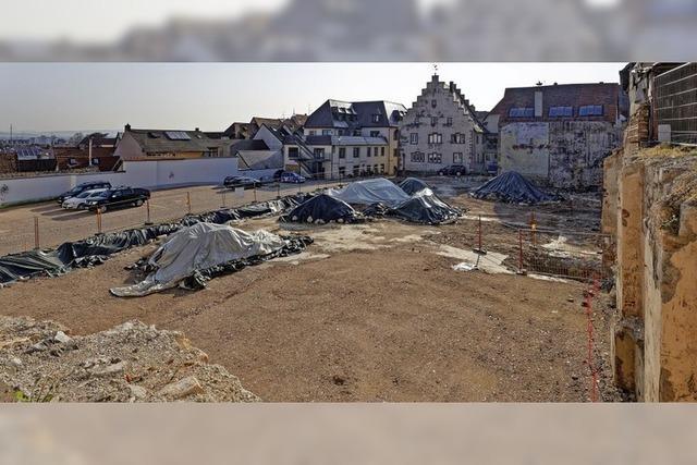 14 000 Tonnen Aushub für Neubau