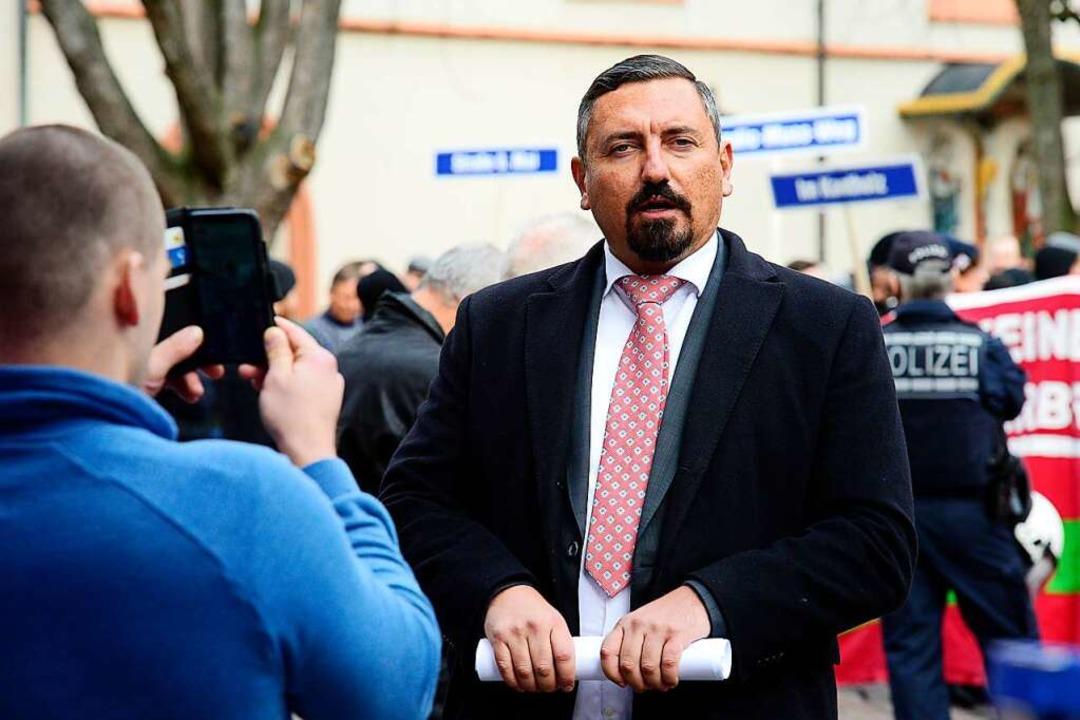 Mit seinem Austritt will AfD-Stadtrat ...lussverfahren zuvorkommen. Archivbild.    Foto: Ingo Schneider