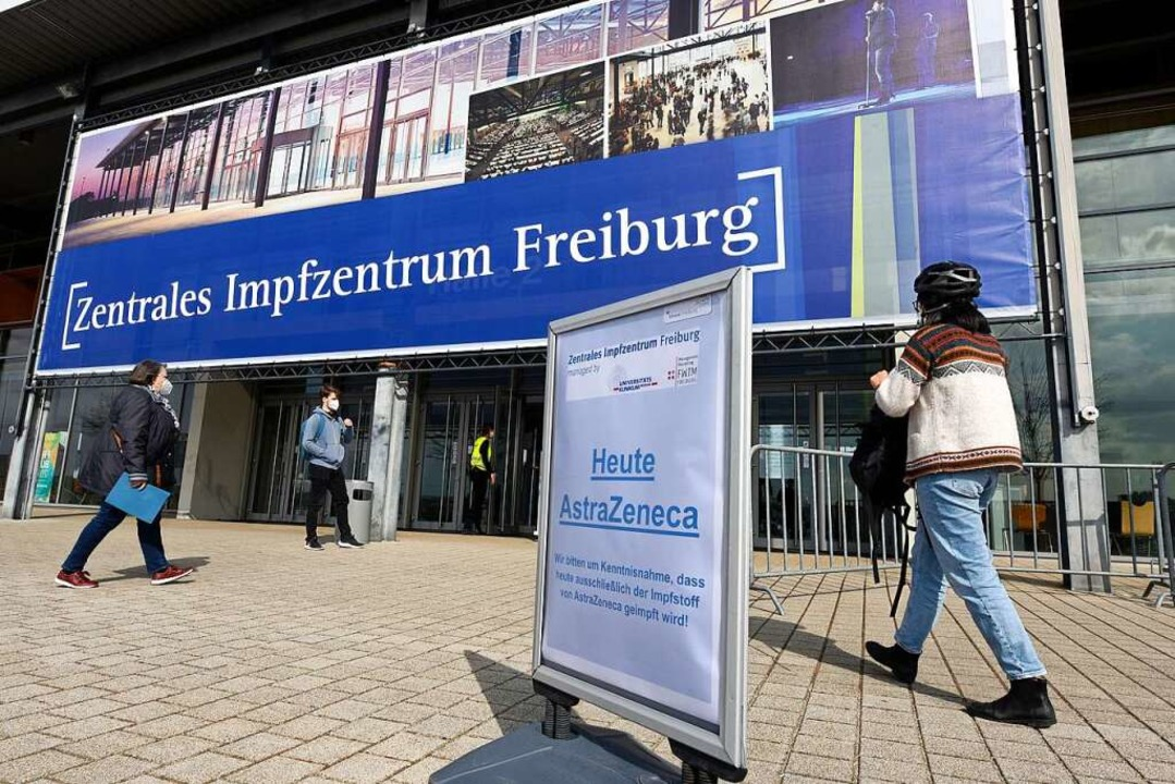 Das Impfzentrum in Freiburg    Foto: Thomas Kunz