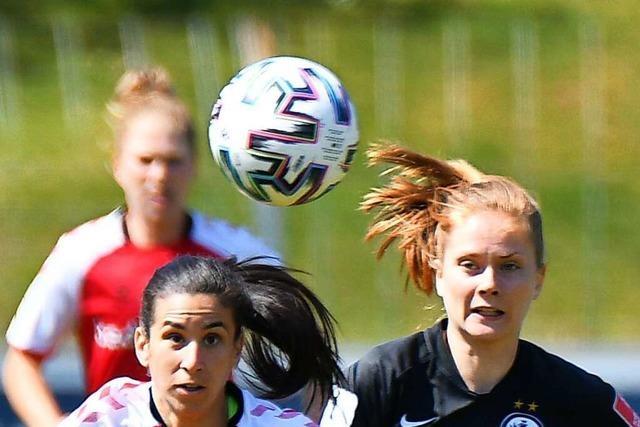 Harsche Kritik vom Trainer nach 0:3-Niederlage der SC-Frauen gegen Frankfurt