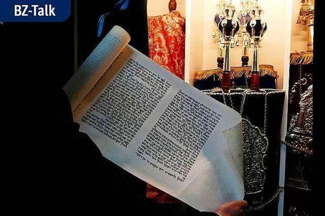 BZ-Talk: Wie geht es den Juden heute in Lörrach?