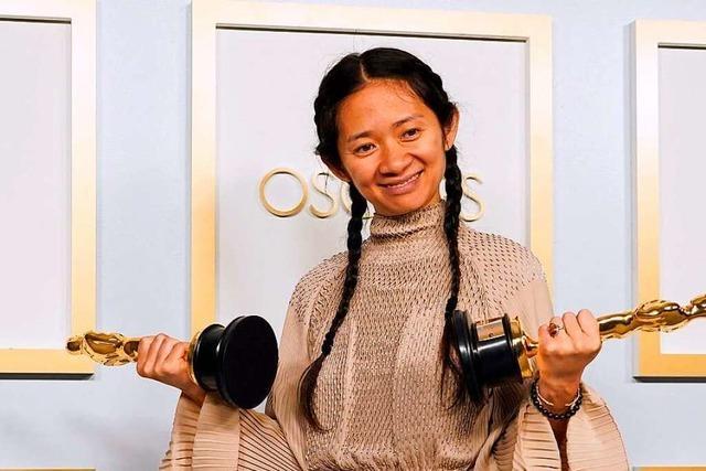 Triumph und Tränen: Regisseurin Chloé Zhao schreibt Oscar-Geschichte
