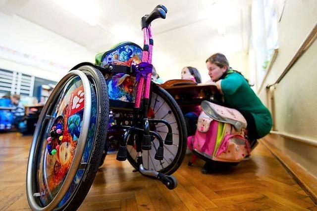 Behinderte Kinder sollen im Kreis Lörrach Hilfe aus einer Hand bekommen