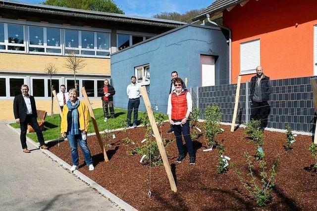 Bei der Grundschule Oberweier können Schüler werkeln und naschen