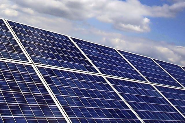 Landkreis baut Solaranlage