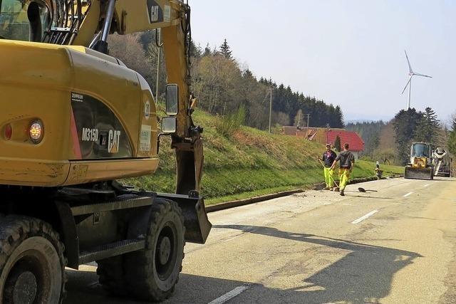 Landesstraßen werden erneuert