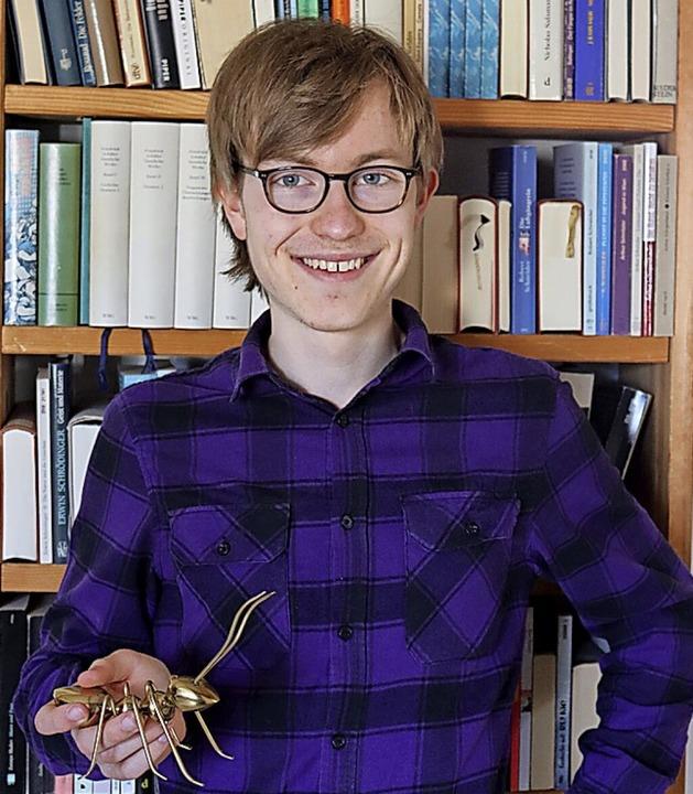 Noah Hohenfeld untersuchte echte Ameisen, nicht diese.  | Foto: Aaron Hohenfeld