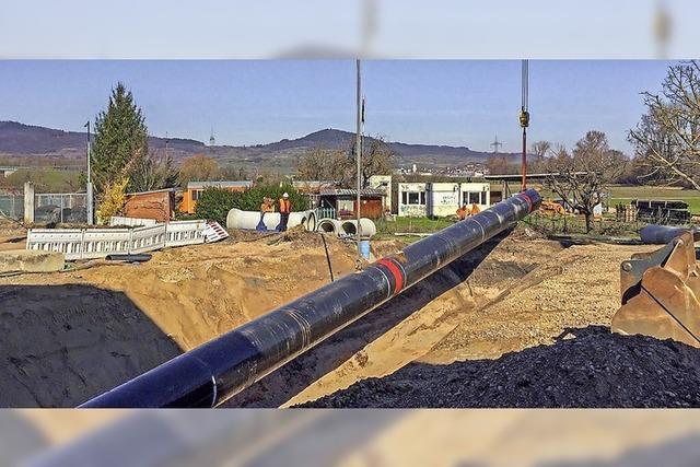 Drei Jahre Kanalbauarbeiten sind beendet