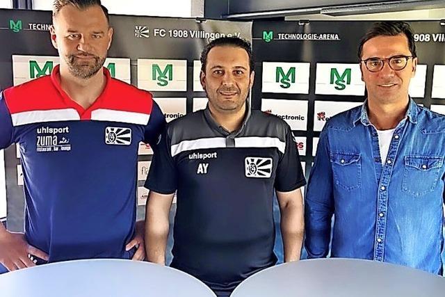 Zwei Cheftrainer beim FC 08 Villingen II