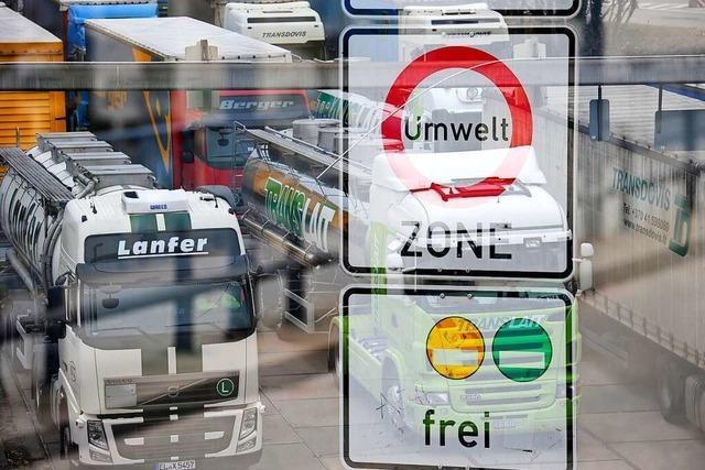Der Verkehr verhagelt Freiburg die CO<sub>2</sub>-Bilanz