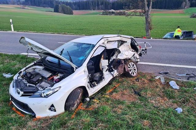 69-Jähriger stirbt bei Verkehrsunfall bei Reiselfingen