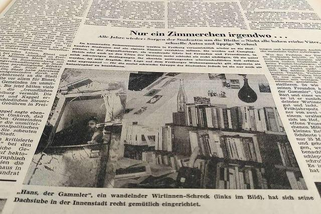 Im April 1971 war die BZ zu Besuch bei