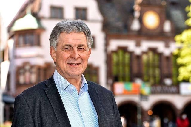 Im Freiburger Rathaus hatte er Einfluss wie nur wenige – Adrian Hurst geht jetzt in Ruhestand