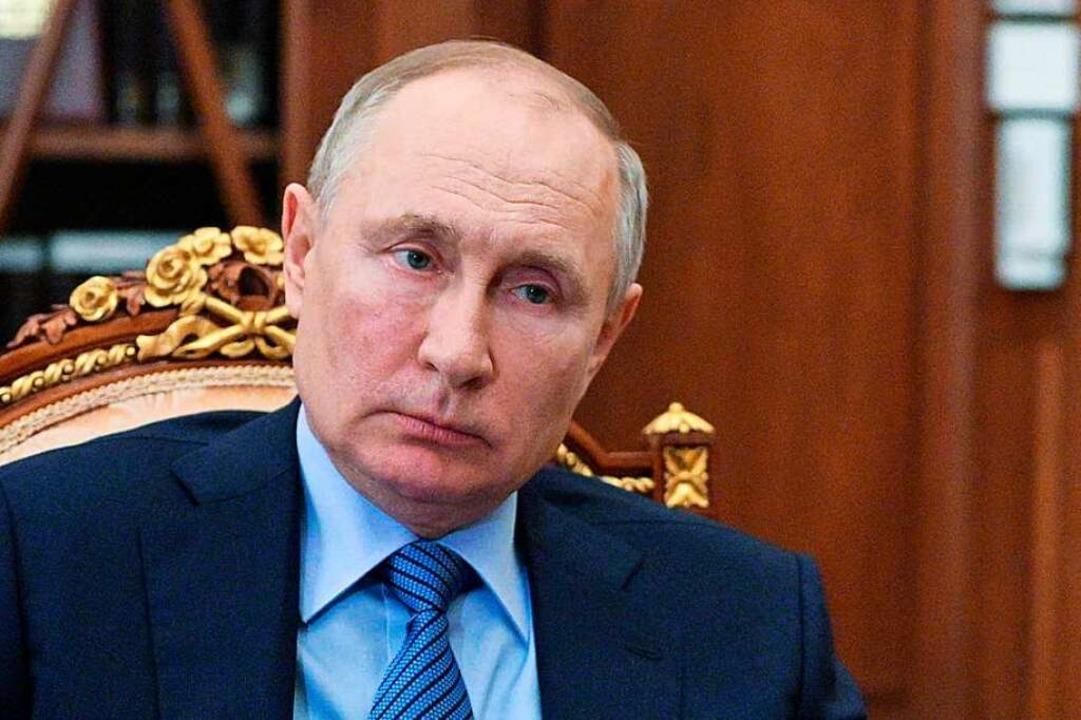 Vladimir Putin.    Foto: ALEXEI DRUZHININ (AFP)