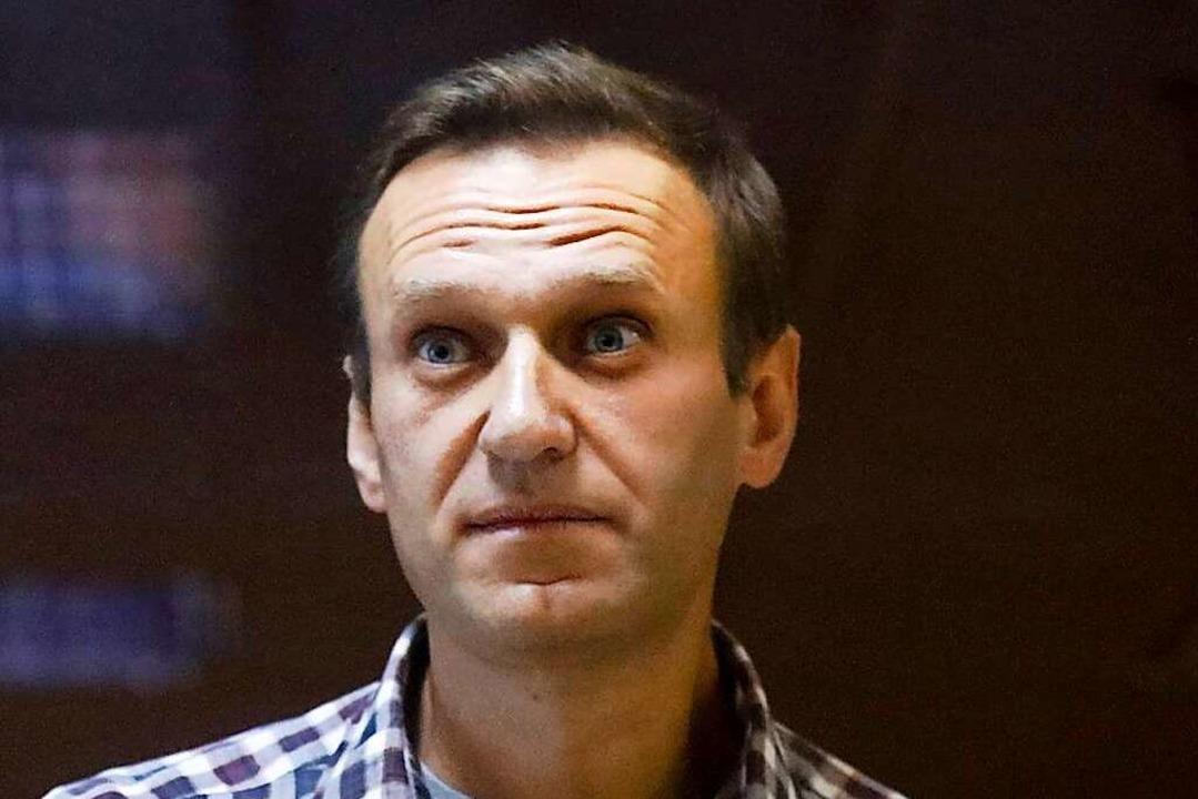 Der Oppositionsführer Alexej Nawalny.    Foto: Alexander Zemlianichenko (dpa)