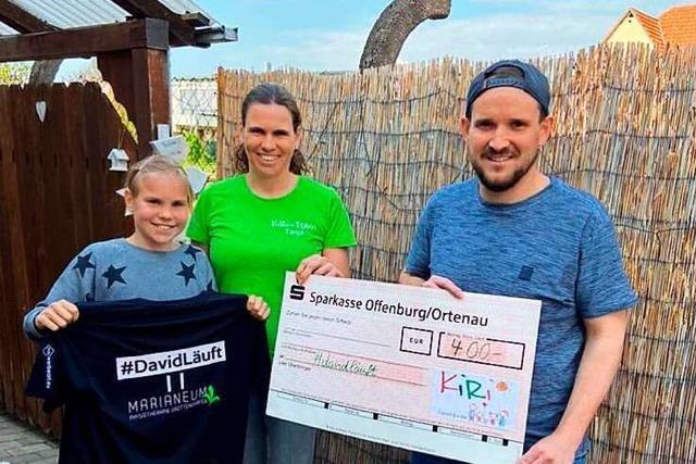 Ringsheimer Kiri-Verein spendet für das Projekt eines Handballers