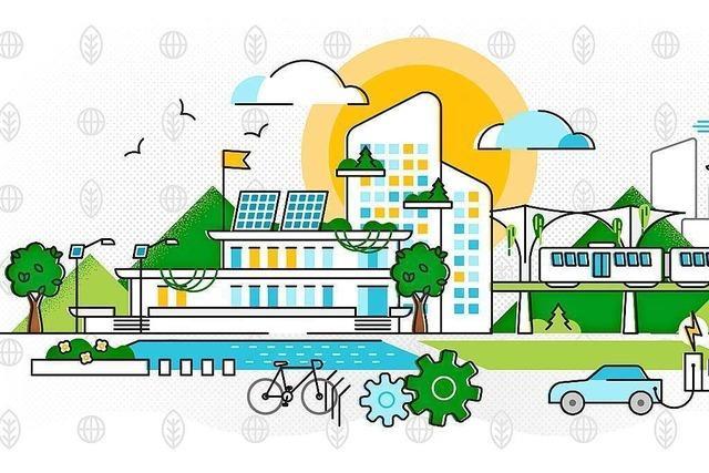 Die Stadt der Zukunft besteht aus autarken, klimaneutralen Quartieren