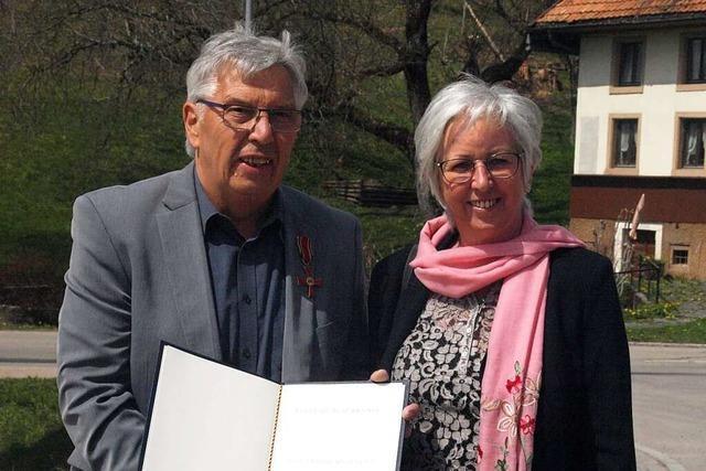 Rudi Apel bekommt das Bundesverdienstkreuz