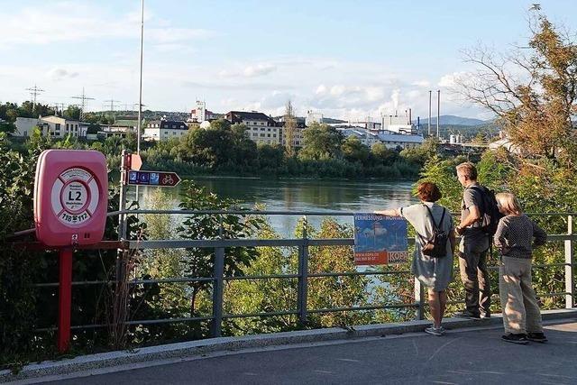 Die Aussichtsplattform in Rheinfelden/Schweiz kann gebaut werden