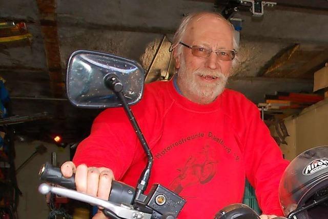 Die Motorradfreunde Dinkelberg brausen mit Vollgas ins fünfte Jahrzehnt