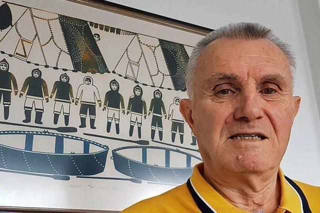 Klaus Fleck, Altbürgermeister von Schopfheim, ist noch immer ein Abenteurer