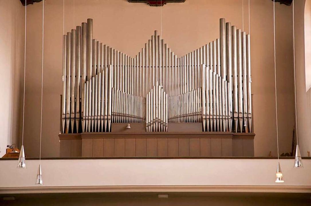 Auch eine Orgel von Jäger & Bromme...irche St. Michael in Freiburg-Haslach.  | Foto: Archiv Jäger & Brommer (Waldkirch)